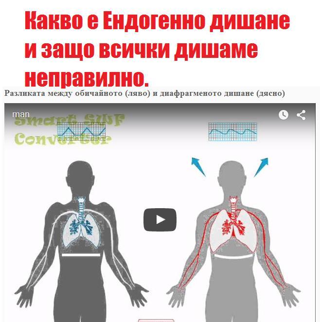 какво е ендогенно дишане