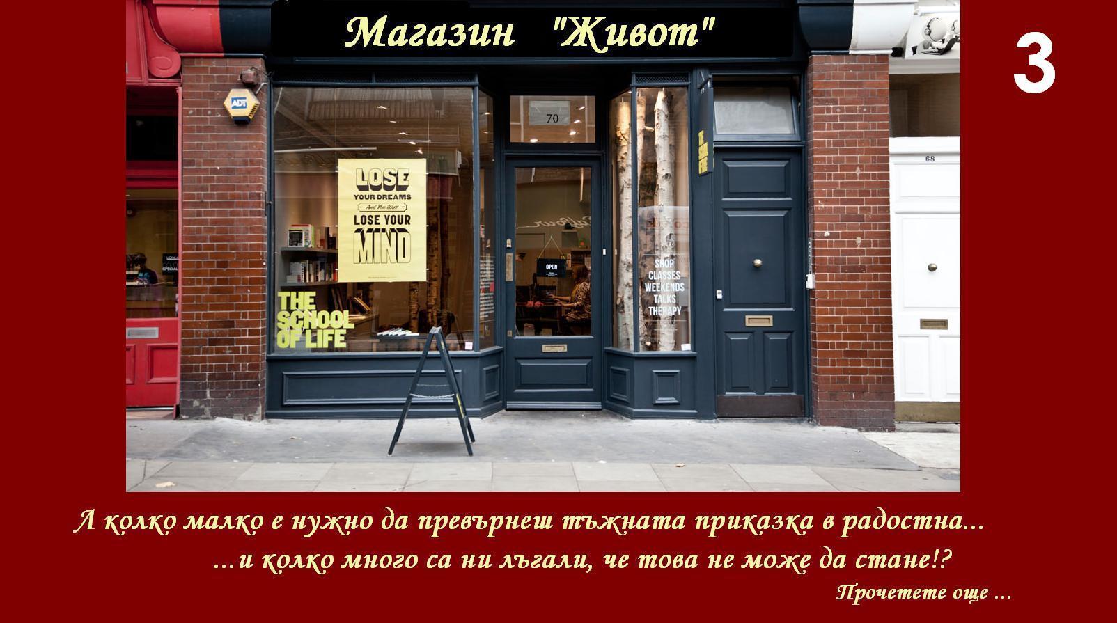 Магазин живот 3