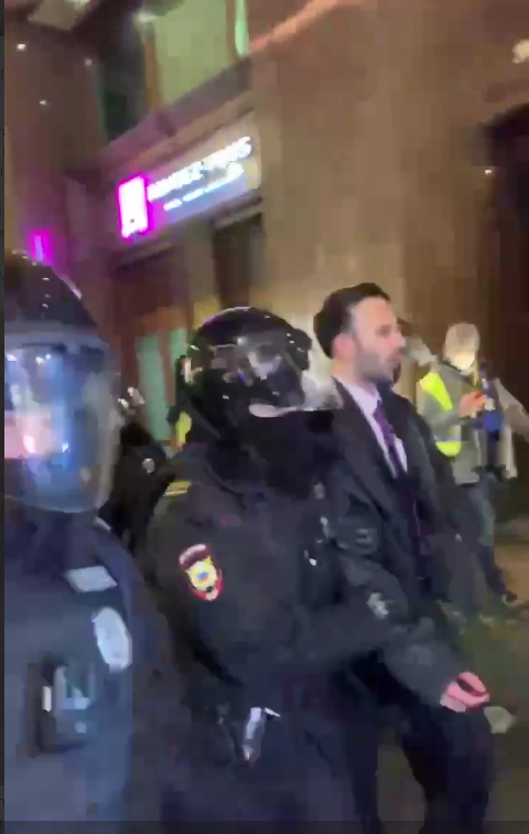 Арестуван е агент на Deep State в Москва